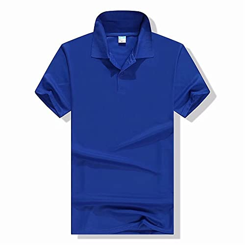 Camiseta Hombre Básico Color Sólido Casual Poloshirt Hombre Negocio Clásico Slim Fit Hombre Manga Corta...