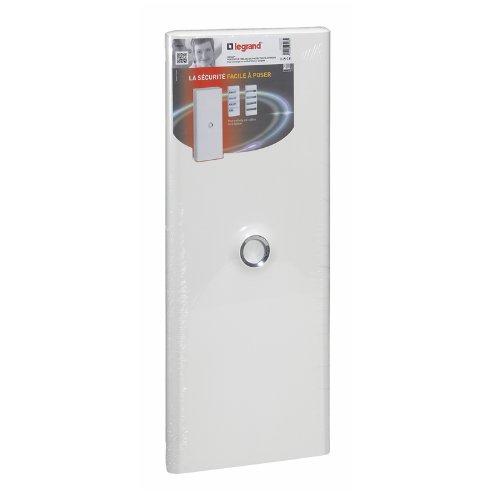 Legrand LEG93033 DRIVIA - Puerta para cuadro eléctrico (4 filas), color blanco