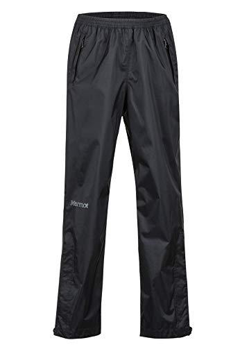Marmot Kinder Hardshell Regenhose, Winddicht, Wasserdicht, Atmungsaktiv Kid's PreCip Pant, Black, S, 41020
