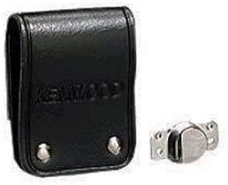 Kenwood OEM KBH-8DS Swivel Leather Belt Loop NX411 NX410 TK5310 TK5210 TK5410