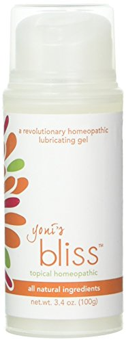 REVOLUTIONARY HOMEOPATHIC FORMULA - Yoni's Bliss female lubricating gel was specifically developed by a Homeopath who has been practicing for over 20 years. It contains a high quality organic aloe base with Carageenan which gives the gel body. Citric...