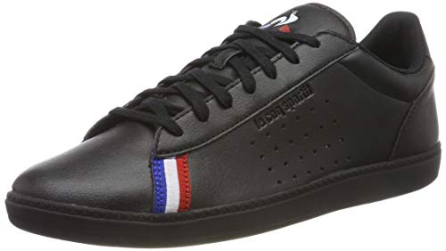 le coq Sportif COURTSTAR Sport, Sneaker Uomo, Nero Triple Black, 42 EU