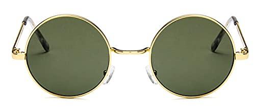 Gafas De Solgafas De Sol Redondas para Mujer, Rojo, Amarillo, Azul, Verde, con Lentes Transparentes, Gafas De Sol para Mujer, Pequeñas Gafas De Sol