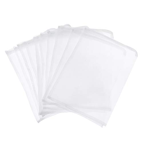 UEETEK UEETEK 10 stücke 25 * 35 cm Kordelzug Nylon Mesh Filter Medien Tasche für Aquarium Garten Teich
