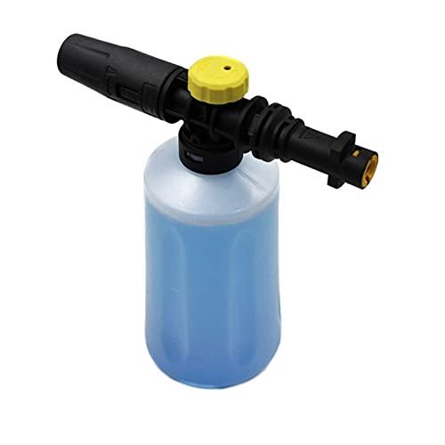 Lanza de Espuma de Nieve de 750 ml para K-A-R-C-H-E-R K2 K3 K3 K5 K6 K7 Lavadoras de presión de automóvil Generador de Espuma de jabón con Boquilla de pulverizador Ajustable