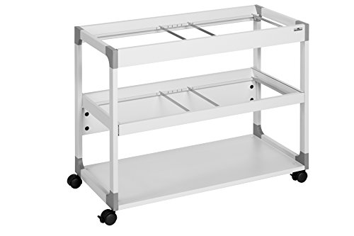 Durable 379210 System File Trolley 200 Multi Duo, grau