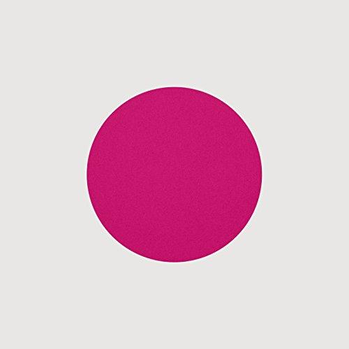 daff Filz Untersetzer Rund aus Merino-Wolle Ø 15 cm deep pink Melange