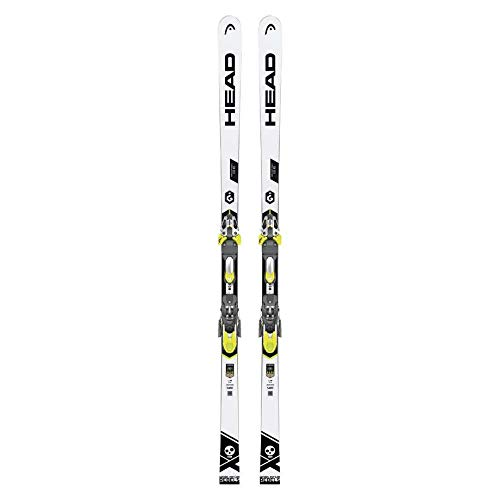 HEAD - Pack Ski WC Rebels I.GS RD SW Rp +Fixations FF Evo 16 - Homme - Taille 193 - Blanc