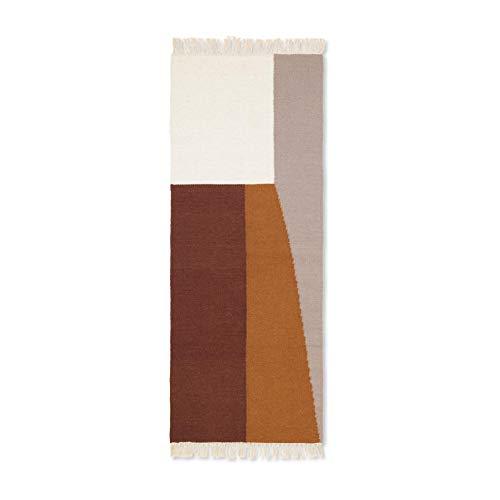 ferm Living Tapis 80 % Laine et 20 % Coton 180 x 70 cm
