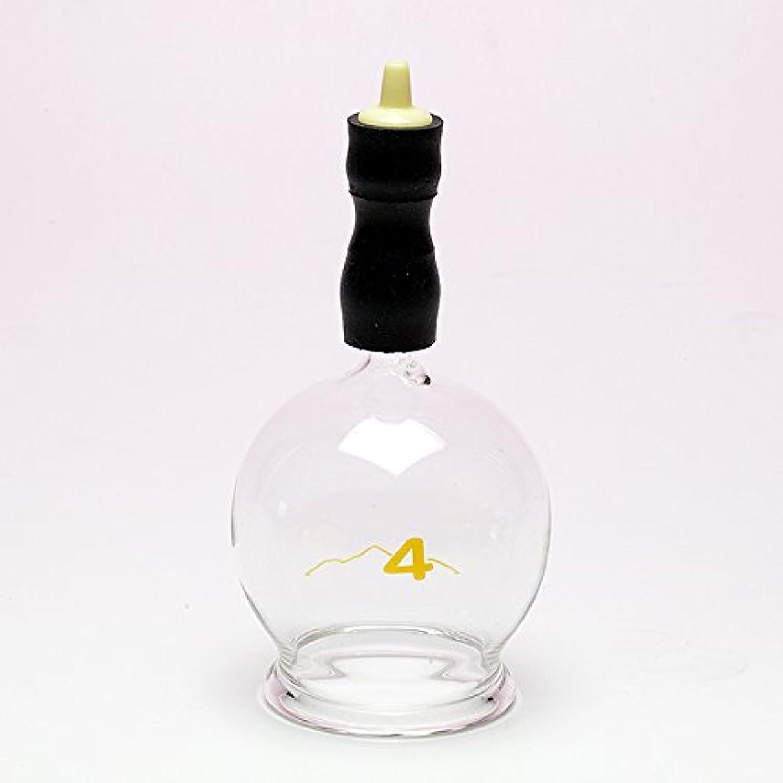 うねる学期拮抗する霧島ガラス玉(電動吸い玉機器用吸着具)完成品4号