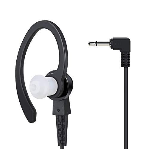 COODIO Profi C-Ring Security 3,5mm Nur Empfang Ohrhörer Kopfhörer Reiner Headset Überlegen Audio-Lautsprecher Für Funkgeräte Lautsprechermikrofon Handmikrofon