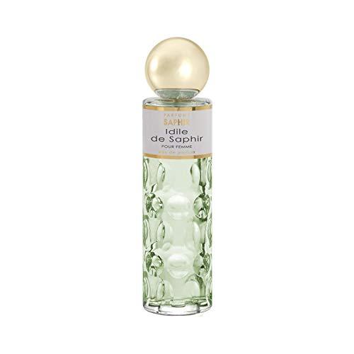 PARFUMS SAPHIR Idile Eau de Parfum con vaporizador para Mujer, 200 ml