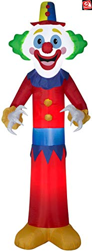 Airblown 9' Gemmy Inflatable Happy Clown Yard Decoration