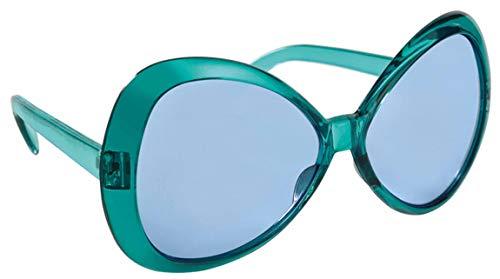 amscan 250075-55 Spaß-Brille Wild, türkis
