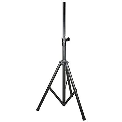 beamz Adjustable Folding Stand 25kg Load for DJ Disco Party T-Bar Lighting 2.3m Max