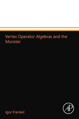 Vertex Operator Algebras and the Monster