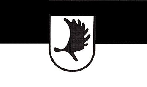 U24 Fahne Flagge Ostpreussen Landmannschaft Bootsflagge Premiumqualität 30 x 45 cm