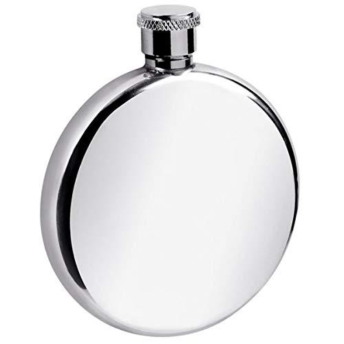 Fiaschetta argentata D 8 cm opacizzata argento placcato argento Premium