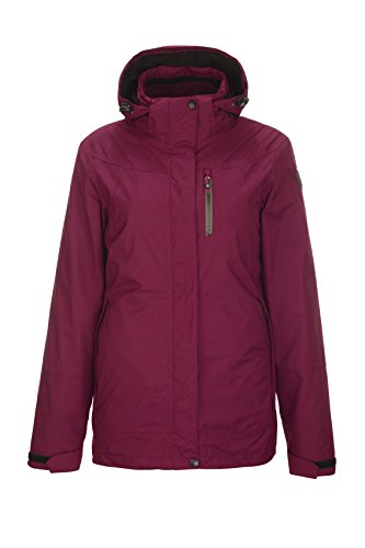 Killtec Damen Beckie 3 In 1 Funktionsjacke, Himbeere, 40