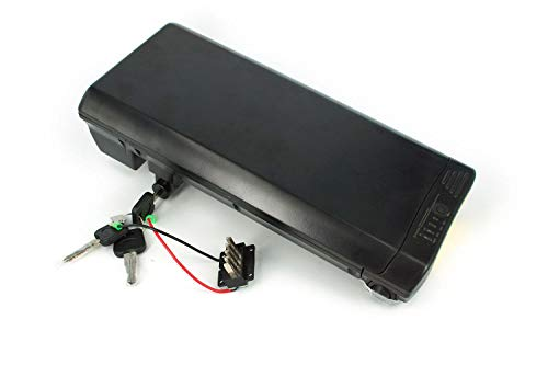 PowerSmart® Ansmann E-Bike Ersatzakku 24V 11.6Ah Pedelec Batterie Panasonic Zellen, mit Halterung (Platz für Controller)
