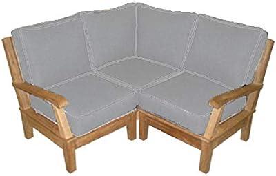 Amazon.com : Vondom Rest Sofa Central Module Bronze : Garden ...
