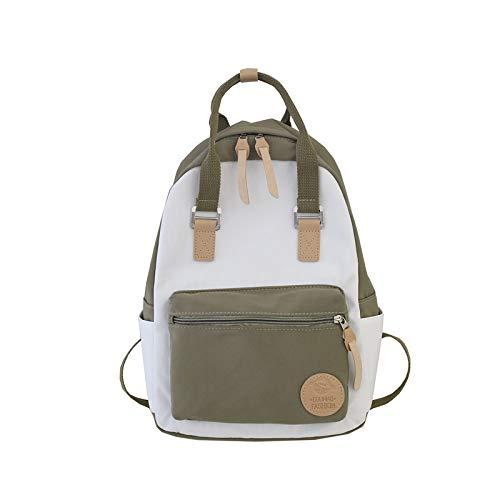XMYNB Modischer Studenten-Rucksack, tragbar im Freien, modisch, einfach, lässig, Farbe