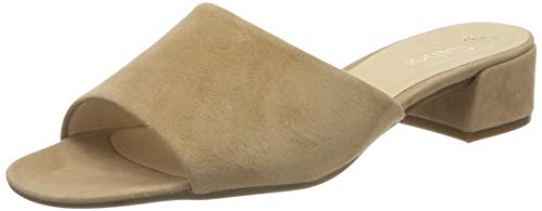 Gabor Shoes Damen Fashion Pantoletten, Beige (Caramel 12), 41 EU