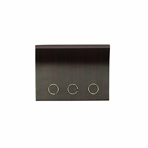 Umbra, Espresso Magnetter - Magnetic Wall Mounted Key/Mail Entryway Organizer/Hanger, STORAGE