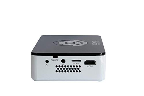 AAXA Technologies P300 Pico Projector with Rechargeable Battery - Native HD resolution with 500 LED Lumens, For Business, Home Theater, Travel and more (KP-600-01) Photo #4