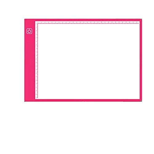 AMZSELLER Cajasy organizadores Gráficos Digitales A3 Gráficos Dibujos de Tableta Digitaces Digitaces (Color : Red)