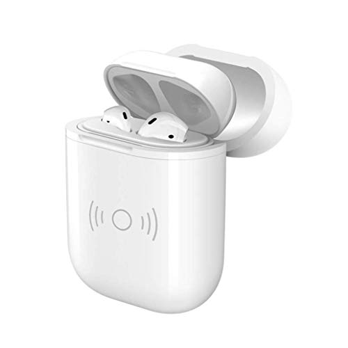 Wireless Qi Charging Protective Case for Apple Airpods (Requires AirPods Case & Qi Charging pad)
