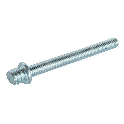 SOMATHERM FOR YOU - Patte à vis métaux 7/150 (Ø5) - 50 mm (x5) - Acier nickelé à épaulement