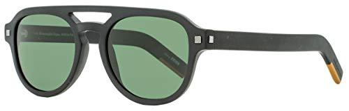 Gafas de sol Ermenegildo Zegna EZ 0113 02R mate negro/verde polarizado