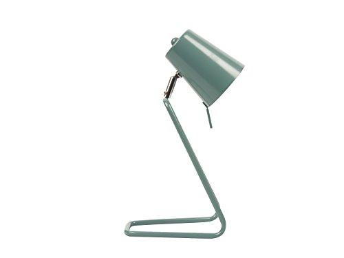 Leitmotiv LM1189 Lampe de Table Z Métal 25 W E14 Bleu
