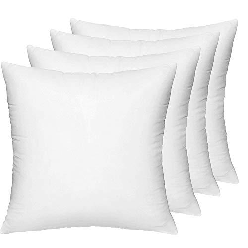 18x18 Pillow Insert Set of 4, De...