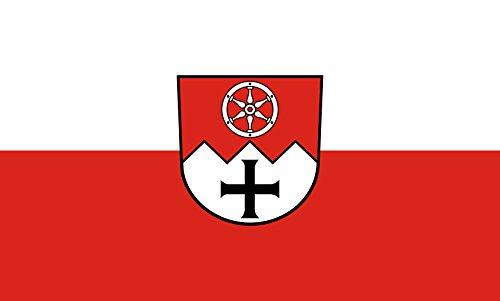 Unbekannt magFlags Tisch-Fahne/Tisch-Flagge: Main-Tauber-Kreis (Kreis) 15x25cm inkl. Tisch-Ständer