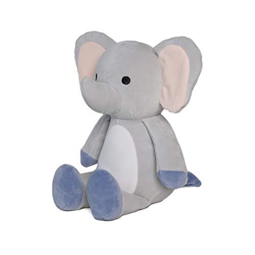 Avocatt Gray Huggable Elephant Plush