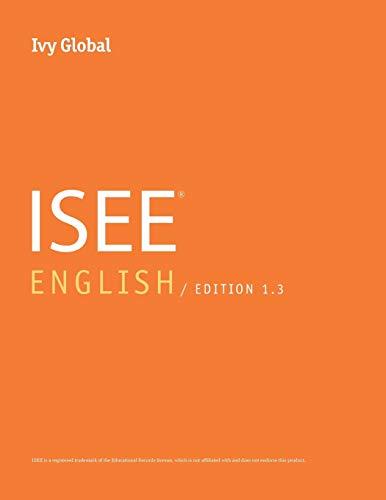Ivy Global ISEE English 2016, Edition 1.3 (Prep Book)