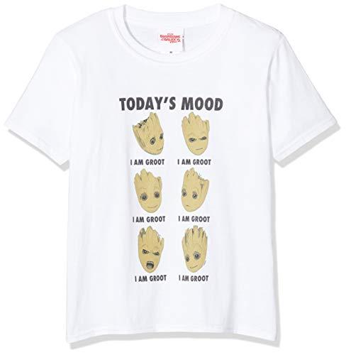 Marvel Ni/ñas Avengers Infinity War I Am Teenage Groot Camiseta