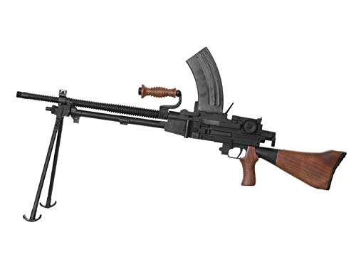 S&T Type 96 Vollauto LMG Airsoft Machine Gun/Maschinengewehr -Echtholz Version- < 0,5 Joule
