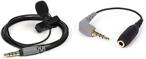 Rode SmartLavPlus Microphone lavalier pour Smartphone & SC4 Adaptateur pour VideoMic