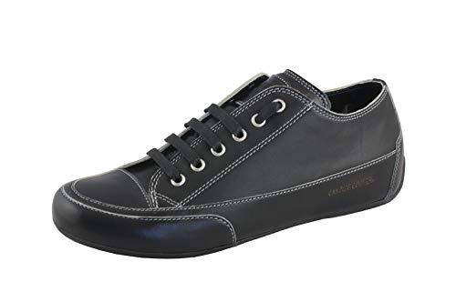 Candice Cooper Rock 01 schwarz Tamponato (Kalbleder) Base schwarz Damen Sneaker Größe 39