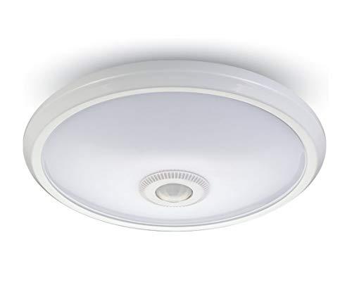 V-TAC LED-plafondlamp Chip Samsung Rotonda 12W met PIR-sensor, wit