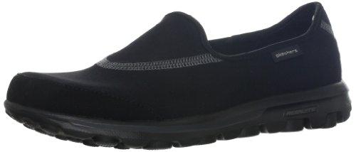 Skechers Performance Women's Go Walk Slip-On Walking Shoes, Black, 8.5 M US