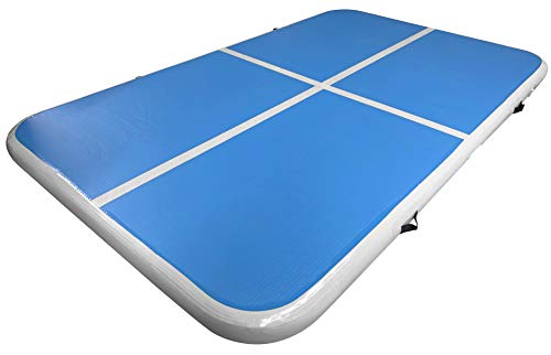 Eds Industries Water Inflatable Floating Pad - Platform for Playing on, Boating, Sandbars, Beaches and Pools (Large 8' x 5')