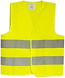 RFX+Care Industrial Construction Safety Vest High Visibility, ANSI/ISEA Standard | Color Fluorescent Yellow