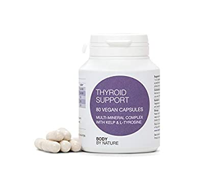 Vegan Thyroid Support, It is Beneficial to Have l-tyrosine & Iodine ingested Together in a Form That can be Immediately usable by The Thyroid Gland to Promote Production of Thyroid Hormones.