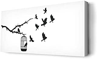 Canvas Arts for Wall from Decalac, Printed on Canvas with Internal Wooden Frame, Cnvs-R2-0002