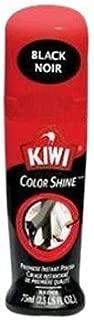 Kiwi 11311 2.5 Oz Black Color Shine™ Premiere Instant Polish