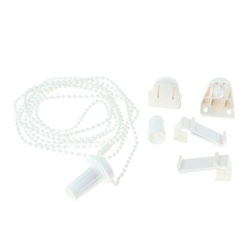 KESOTO Reparaturset für Klemmfix Rollos, inkl. Ketten, Kupplung und Halterung